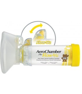 Aerochamber Cámara antiestática para inaladores 1 a 5 Años