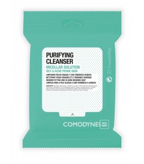 Comodynes Purifying Cleanser Acné Toallita Micelar 20 Unds