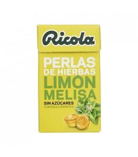 Ricola Perlas Limon Melisa 25 Gramos