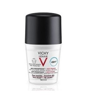 VICHY HOMME ANTITRANSPIRANTE ANTIMANCHAS HOMBRE ROLL ON 50 ML