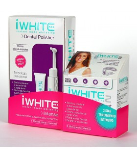 I White Intense  Dental Polisher + I White Instant Molde Dental 6 UDS