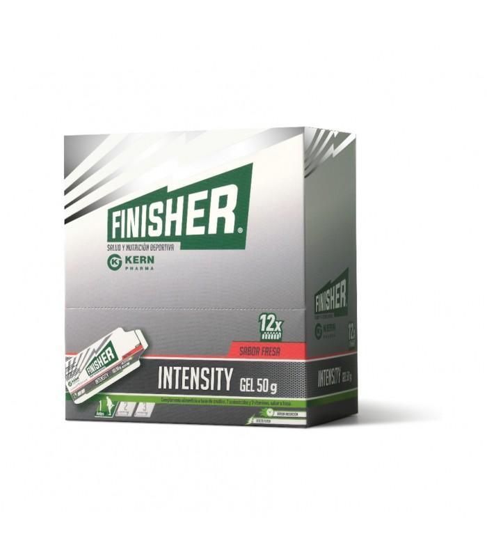 FINISHER INTENSITY GEL 50 G 12 SOBRES DE FRESA