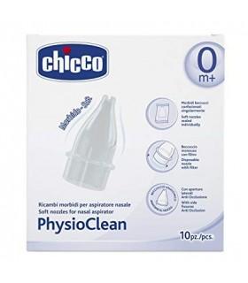 CHICCO PHYSIO CLEAN ASPIRADOR NASAL RECAMBIOS 10 U