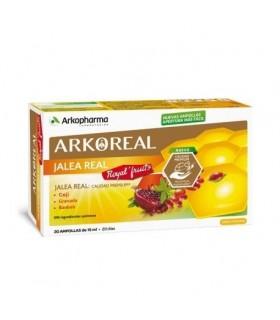 Arkoreal Jalea Royal Fruit 20 Ampollas