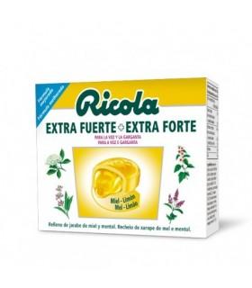 Ricola Caramelos Extra Fuerte Miel Limón 51 GR