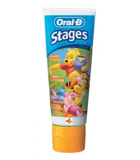 Oral-B Pasta Infantil Winnie Pooh 7