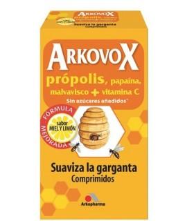 Arkovox Miel Y Limon 20 Comprimidos