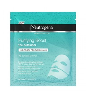 NEUTROGENA PURIFYING BOOST HYDROGEL RECOVERY MASCARA PURIFICANTE 30 ML