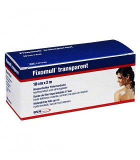 FIXOMULL TRANSPARENTE 2 M X 10 CM