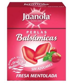 Juanola Perlas Fresa Mentolada 25 G