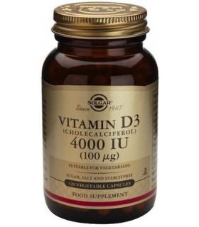 Solgar Vitamina D3 4000 Iu 120 Capsulas