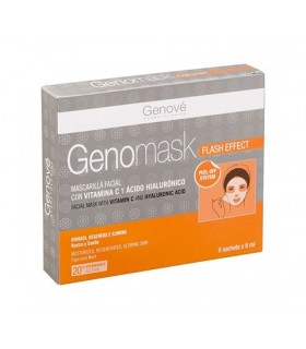 GENOMASK MASCARILLA FACIAL FLASH EFFECT 6 X 8 ML