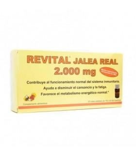 Revital Jalea Real 2000 Mg Bebibles 20 Ampollas