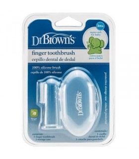 Dr Browns Cepillo Dental De Dedal 3M+