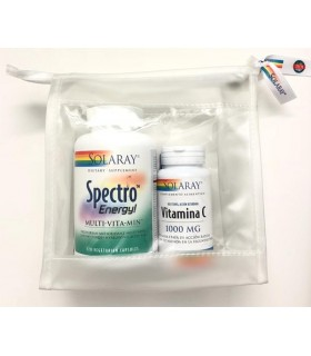 Solaray Pack Spectro Energy + Vitamina C 1000 MG