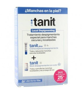 Tanit Crema Despigmentante 15 ML + Stick Color Despigmentante SPF 50+