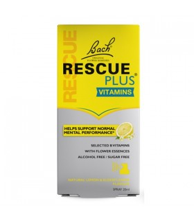 Bach Rescue Plus Vitaminas Spray 20 Ml