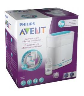 Avent Philips Esterilizador a Vapor Eléctrico 3 en 1