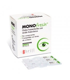 Monofresh Gotas Humectantes Monodosis 0.4 ML 30 Unds