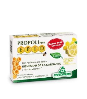 Propoli Plus 20 Compr Masticables Zumo Limón y Miel
