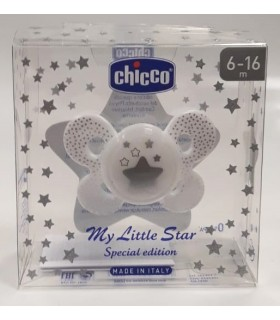 Chicco Chupete Silicona Physio Edicion Navidad 6 - 16 Meses
