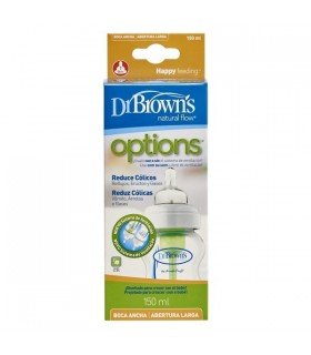 Dr Browns Biberon Boca Ancha Natural Flow 120 Ml