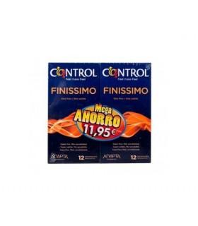 Control Finissimo Preservativos 12+12 Unds