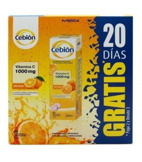 Cebion Pack 3X2 GRATIS 20 Días