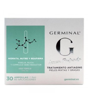 Germinal Acción Profunda Pieles Mixtas Tratamiento Antiaging 30 Ampollas X 1,5 ML