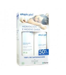 Atopic Piel Loción 500 ML + Gel Baño 750 ML -50%
