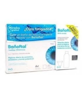 Bañoftal Toallitas Oculares Estéril 20 Unidades