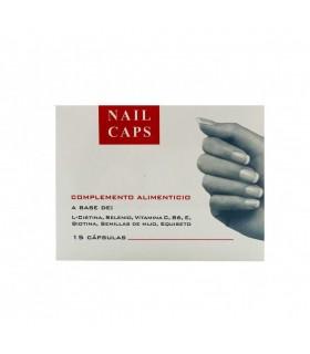 Nail Caps Complemento Alimenticio 15 Cápsulas