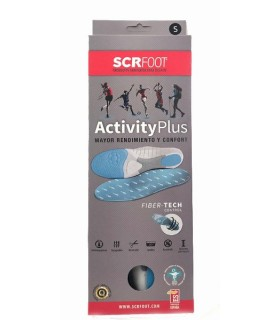 SCR Foot Plantillas Activity Plus 35-37