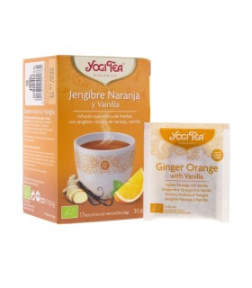 Yogi Tea Jenjibre Naranja y Vainilla 17 Bolsitas