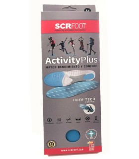 SCR Foot Plantillas Activity Plus Talla 38-40