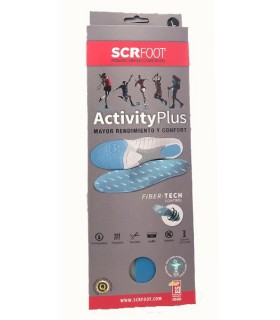 SCR Foot Plantillas Activity Plus Talla 41-43