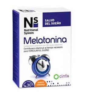 N+S Melatonina 30 Comprimidos