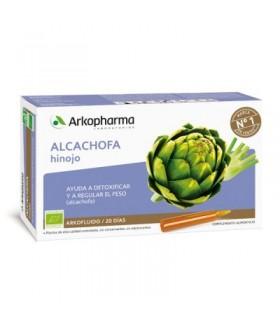 Arkopharma Alcachofa e Hinojo 20 Ampollas
