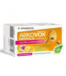 Arkovox Propolis + Vitamina C 24 Comprimidos Para Chupar