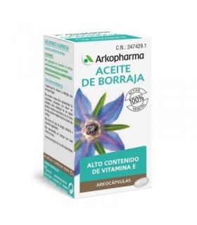 Arkofluido Aceite de Borraja 50 Cápsulas
