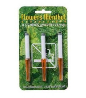 Flowers Mentolados Cigarrillos 3 Unds