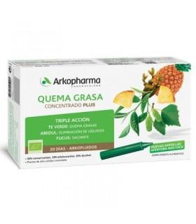 Arkofluido Quemagrasa Concentrado Plus 20 Ampollas