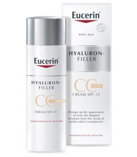 Eucerin Antiedad Hyaluron Filler CC Color Claro 50 ML