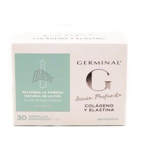Germinal Acción Profunda Colágeno y Elastina 30 Amp x 1 ML