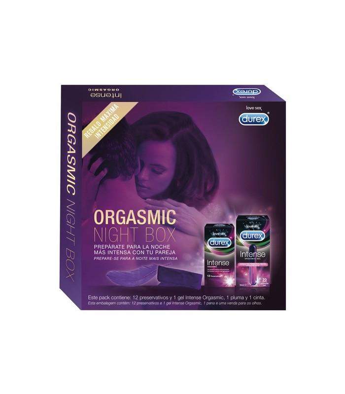 Durex Orgasmic Night Box + Regalo Máxima Intensidad