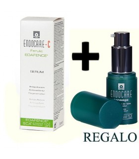 Endocare-C Pack Serum Antipolución Edafence 30 ML + REGALO Endocare Tensage Contorno Ojos 15 ML