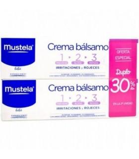 Mustela Crema Bálsamo 1, 2, 3 Duplo 30% 2ª Und 100 ML