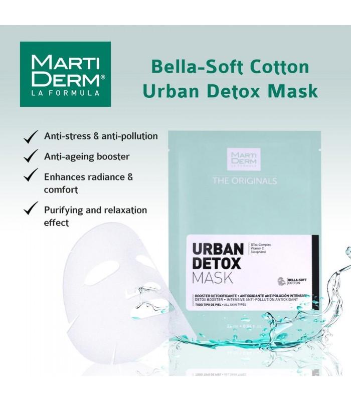 Martiderm Urban Detox Mask 25 ML X 10 Und