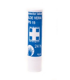 Berdaguer Stick Labial Aloe Vera  FPS15  4 Gr