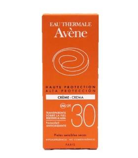 Avène Eau Thermale Crema SPF30+ Alta Protección 50 ML